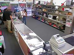 Brittney White And Her Dud Car At The Pawnshop